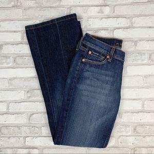 7 For All Mankind Low Rise Jeans Sz 26